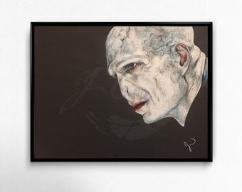 Voldemort Drawing Print/Wall Decoration and Design