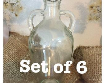 Round glass jar/vase