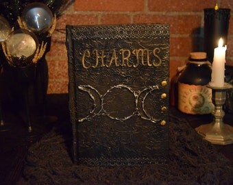 """Halloween Spell Book """"Charms"""""""