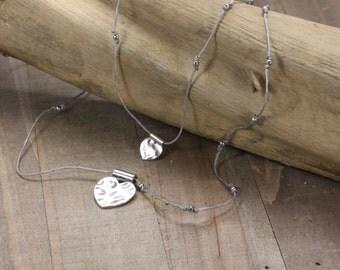Double Heart Handmade Necklace