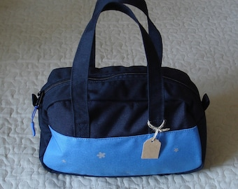 Small Travel Bag black-sky blue