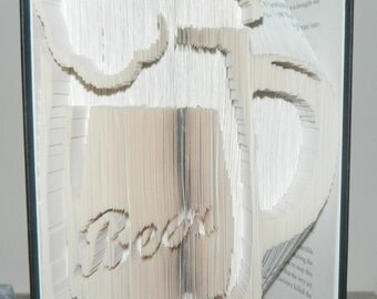Beer Book folding pattern