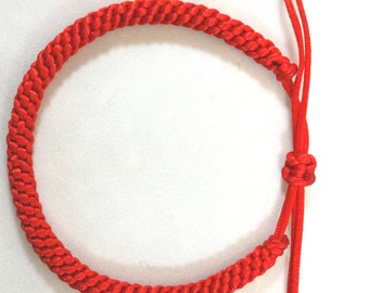Kabbalah red bracelet (Crown knot) for good luck,love,fortune,protection and prosperity. 100% money back guarantee