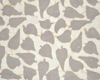 Beige Color Kashish Hand Block Print Cotton Fabric