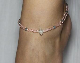Swarovski Crystal Ankle Bracelet