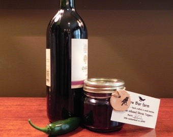 Jalapeno  Infused Shiraz