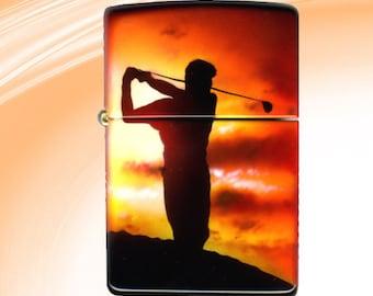 Golf - Hand painted lighter
