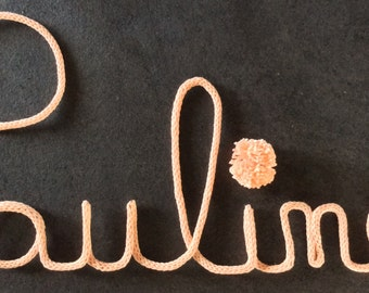 "First name ""Pauline"" in knitting (7 letters)"