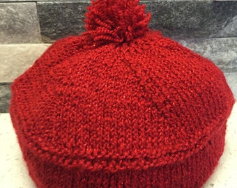 Red hat hand made