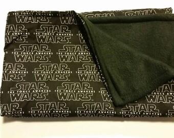 """Star Wars Baby Blanket, 33.5""""x28"""", Geek Blanket, Geek Baby, Baby Shower Gift, Baby Blanket"""