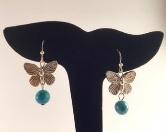 Jael Jade Bead SS Earrings