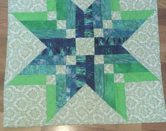 Quilt wall hanging/table topper Binding Tool Star