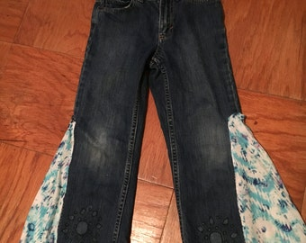 Up cycle kids jeans