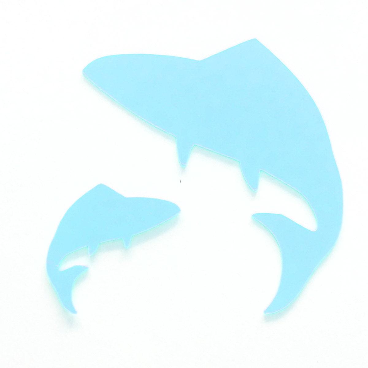25 pack paper shark shape shark die cut shark cut outs sea