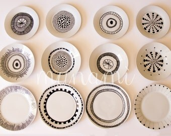 TRIS ceramic dishes
