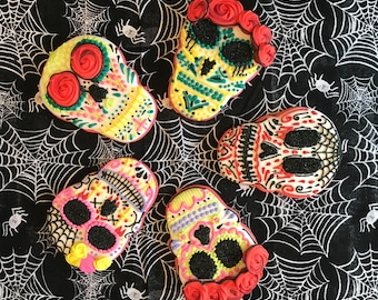 Sugar Skull Cookies (MINIMUM QUANTITY 12)