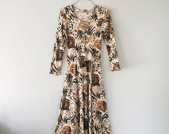 Jungle cat dress