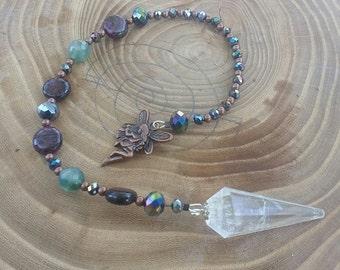 Woodland Fae Dowsing Pendulum