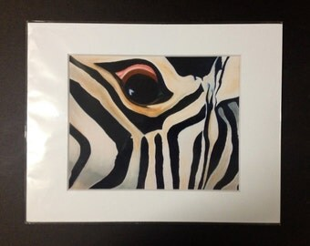 """Color Photo Art Print """"Fear"""" Matted and Numbered"""