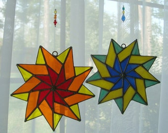 Stained Glass Star (pattern #16)