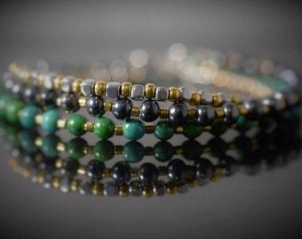 Bracelets rubies