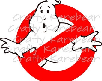 Ghostbusters SVG and DXF Digital Download