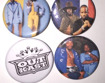 4 Pin Button set Out Kast 1 inch Buttons