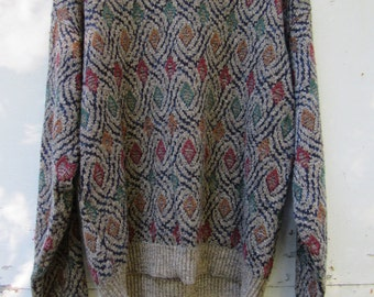 Chunky Oversize Cosby 90s Sweater
