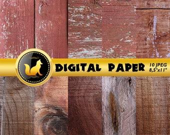 Old Wood Background,Rustic Wood Digital Paper,Distressed Wood Scrapbook Paper,Wood,Printable Wood Background,digital paper,scrapbook paper