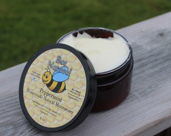 Peppermint Natural Hand and Body Moisturizer