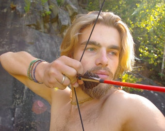 Wood Bow Arrows - Archery