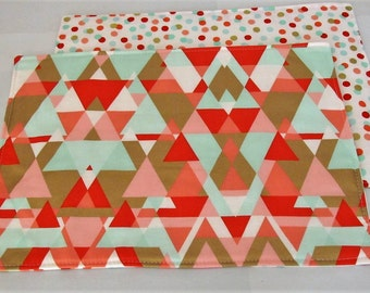 Triangle Placemats Etsy