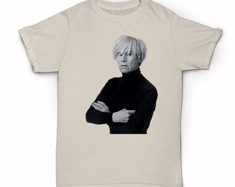 Andy Warhol T-shirt - Street Art - Pop Art - New York City