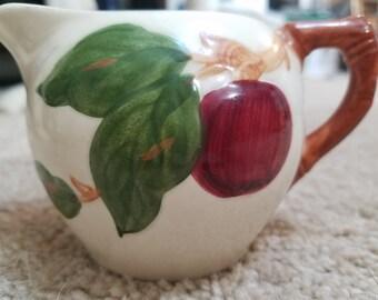 Vintage Franciscan Apple Creamer Bowl