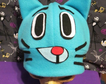 Gumball Waterson Inspired Hat Costume