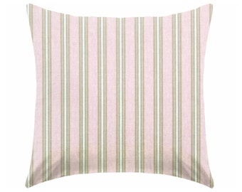 pale pink pillow - girl nursery pillow - pillow cover only - cushion cover -ZIPPER CLOSURE