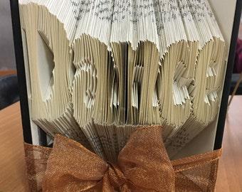 Folded BookArt- Dance