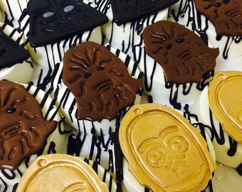 Star Wars Chocolate Covered Oreos