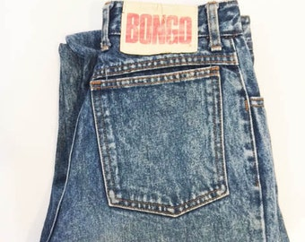 Vtg 90s BONGO JEANS// High Waisted Mom Jeans// Ladies 5