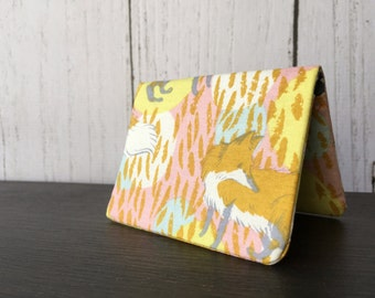 Card Wallet - Playful Fox