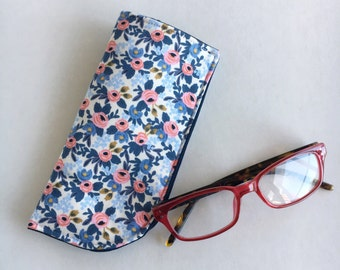 Sunglass, Eyeglass Case, Reading Glasses, Padded, Rifle Paper Co, Floral