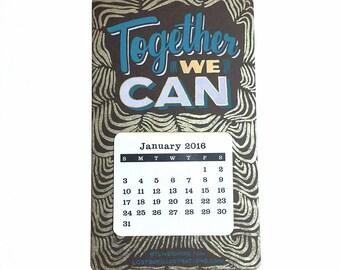 2016 Screenprinted Shop Calendar