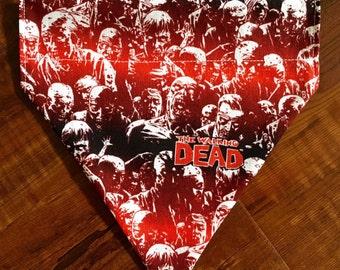 Custom TWD / The Walking Dead Pet / Dog Bandana