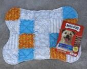 Dog Mat, Dog Bone Shaped Mat, Dog Bed, Handmade Dog Bed, Dog Bedding, Dog Accessories, Fabric Dog Bed, Colorado Catnip Dog Bed, Crate Mat