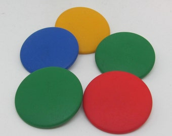 """1 1/2"""" Mixed Color  Buttons"""