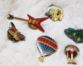 Vintage 90s Novelty Straight Pins