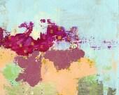 Abstract Art , Flower Art Print, Contemporary Art, Abstract Flower Painting, Flower Wall Art , 11x14 Print , Whimsical Flower Painting
