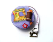 Tape Measure with Sewing Machines Retractable Measuring Tape