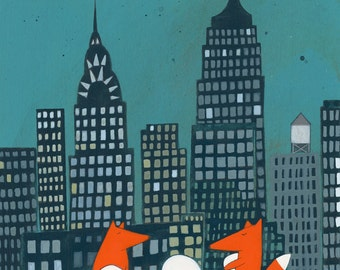Greetings From New York City - Signed Art Print