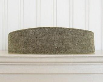 Olive Linen Headband - Womens Headbands - Fabric Headband - Womens and Teens Headbands - Hair Wrap